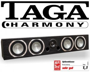 Taga Center Speaker Lautsprecher Platinum v.3 C-100 schwarz