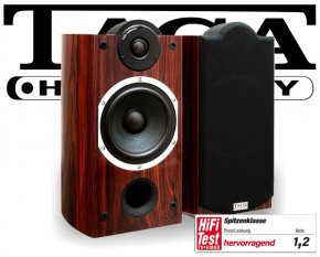 Taga Lautsprecher Regallautsprecher Platinum B-40 SE rosewood 2 Stück