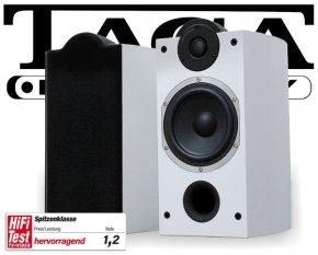 Taga Lautsprecher Regallautsprecher Platinum B-40 SE weiß 2 Stück