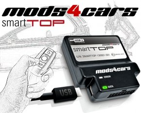 Verdecksteuerung Mods4Cars SmartTOP Verdeckmodul für original Funkfernbedienung BMW 1er E88