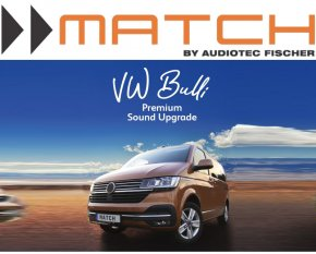 Match Premium DSP Soundsystem inkl. Subwoofer VW Bulli T6.1