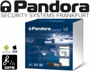 Pandora Wohnmobil Alarmanlage Camper V2 Reisemobil Alarm mit Live-Ortung Handyalarm App Bluetooth