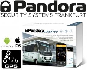 Pandora Alarmanlage Wohnmobil Camper Pro Reisemobil Alarm mit Live-Ortung Handyalarm App Bluetooth