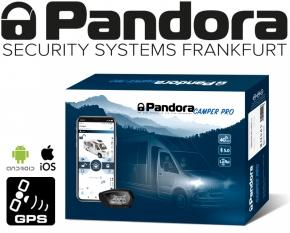 Pandora Alarmanlage Wohnmobil Camper Pro V2 Reisemobil Alarm mit Live-Ortung Handyalarm App Bluetooth