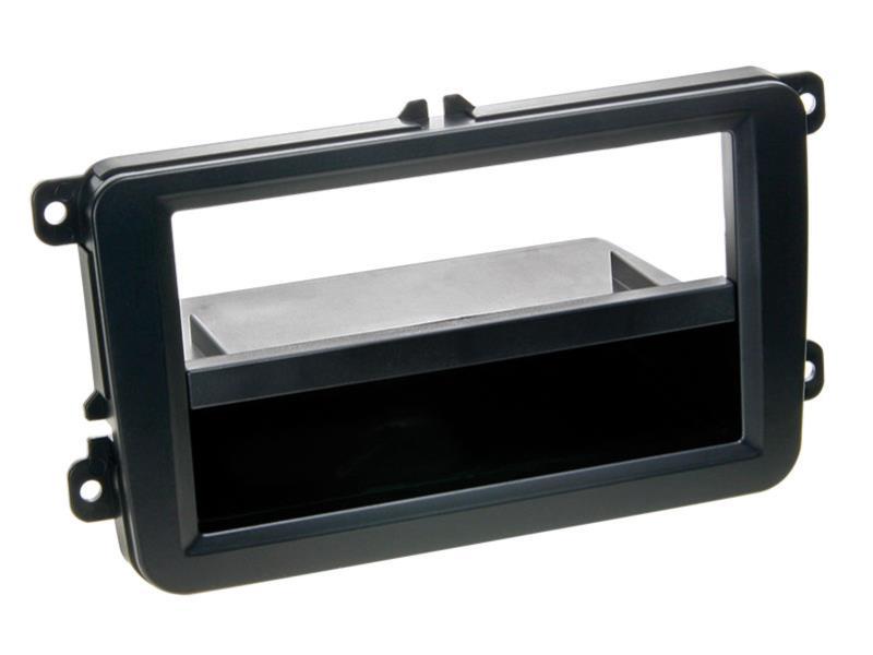 2 din radioblende ablagefach seat skoda vw schw t10. Black Bedroom Furniture Sets. Home Design Ideas