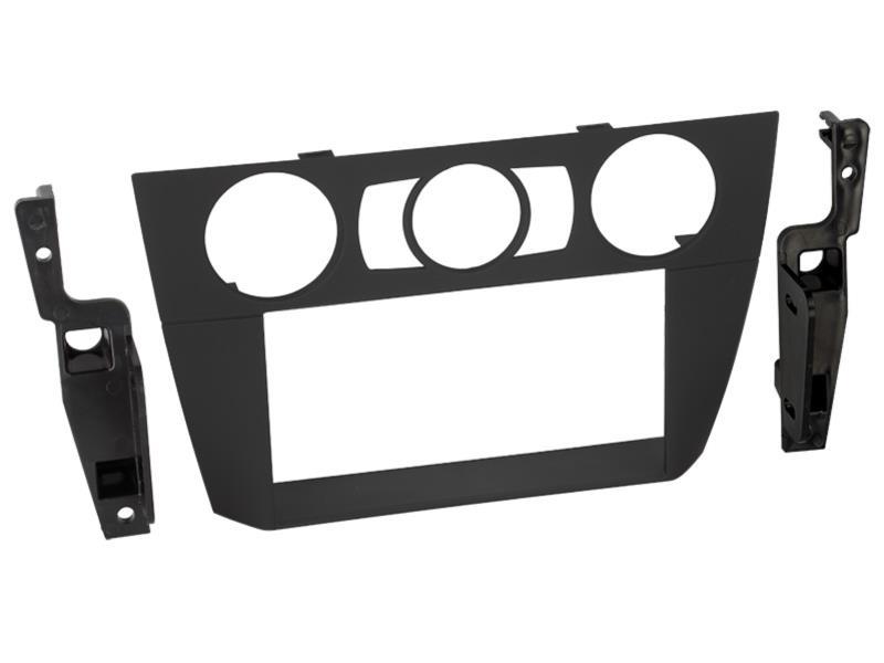 Radioblende schwarz Doppel DIN Blende 2DIN Rahmen BMW 3er E90 E91 E92 E93