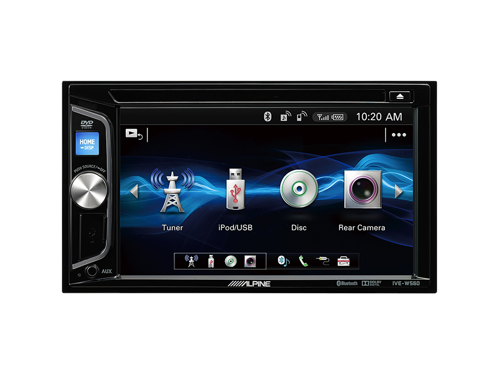 alpine autoradio ive w560bt dvd cd usb bluetooth. Black Bedroom Furniture Sets. Home Design Ideas