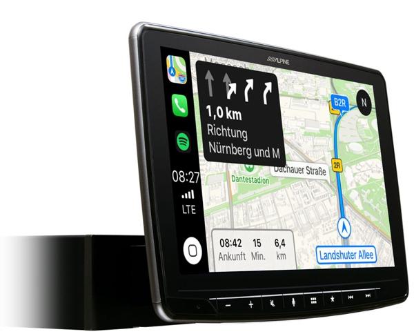 alpine halo 9 autoradio ilx f903d carplay android usb. Black Bedroom Furniture Sets. Home Design Ideas