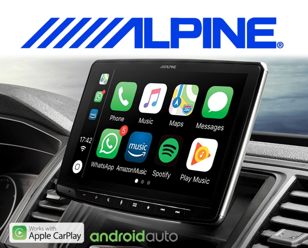 alpine autoradio ilx f903d carplay android usb. Black Bedroom Furniture Sets. Home Design Ideas