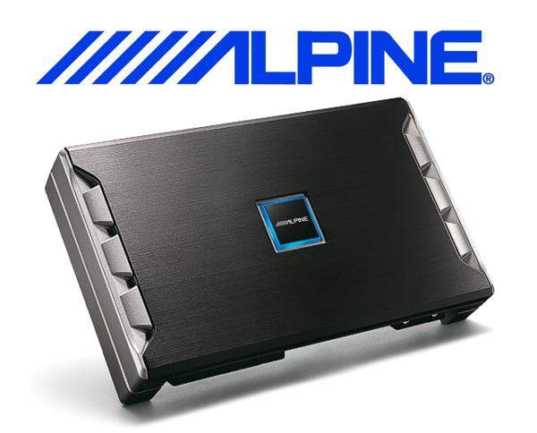 alpine auto verst rker endstufe pdr v75 5 kanal. Black Bedroom Furniture Sets. Home Design Ideas