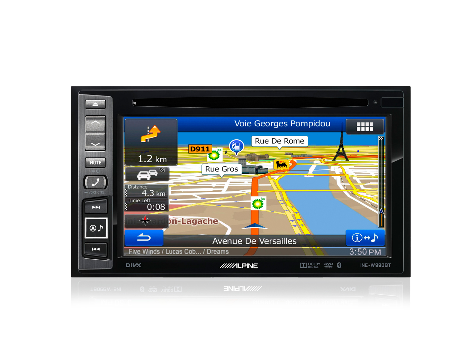 alpine navigationsger t autoradio ine w990hdmi usb. Black Bedroom Furniture Sets. Home Design Ideas