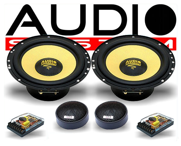 audio system 2 wege auto lautsprecher system h 165. Black Bedroom Furniture Sets. Home Design Ideas