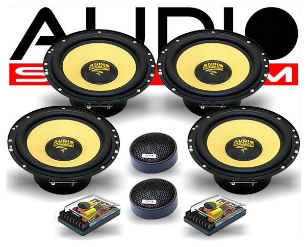 audio system 2 wege auto lautsprecher system h 165 4. Black Bedroom Furniture Sets. Home Design Ideas