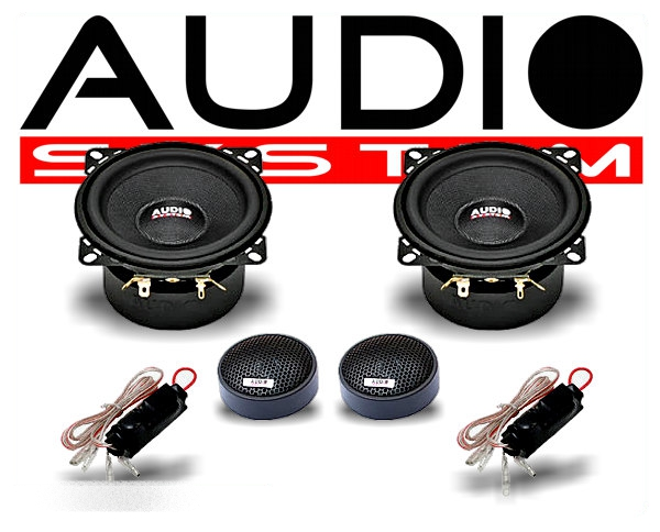 audio system 2 wege auto lautsprecher system m 100. Black Bedroom Furniture Sets. Home Design Ideas