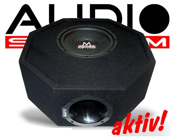 audio system reserveradmulde subwoofer m10 active. Black Bedroom Furniture Sets. Home Design Ideas