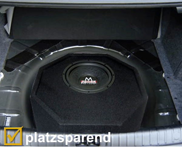 audio system reserveradmulde subwoofer m10 active. Black Bedroom Furniture Sets. Home Design Ideas