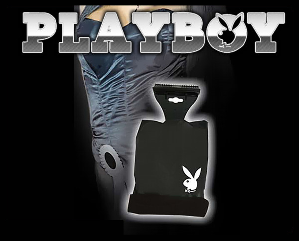 eiskratzer playboy mit handschuh scheiben kratzen. Black Bedroom Furniture Sets. Home Design Ideas