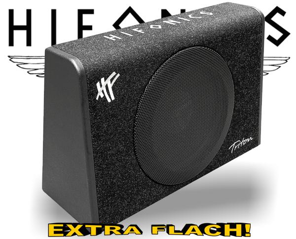 hifonics triton subwoofer bassbox trs 300 flach. Black Bedroom Furniture Sets. Home Design Ideas