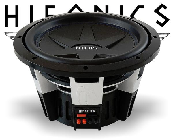 hifonics atlas subwoofer bass lautsprecher atl12d2. Black Bedroom Furniture Sets. Home Design Ideas