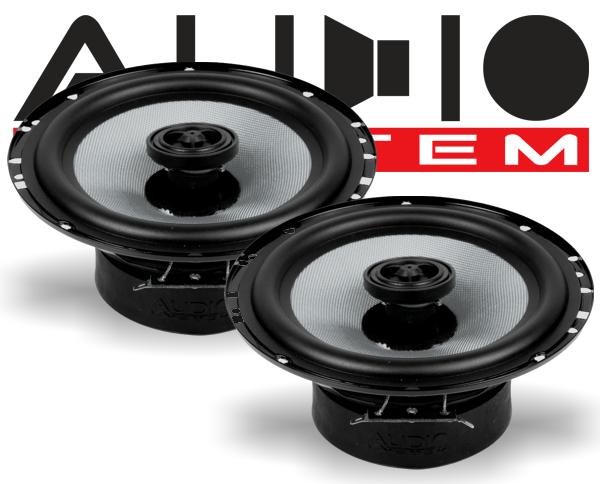 NEU Audio System Carbon 165 CO 2-Wege 16,5cm Koax Lautsprecher Speaker 1 Paar