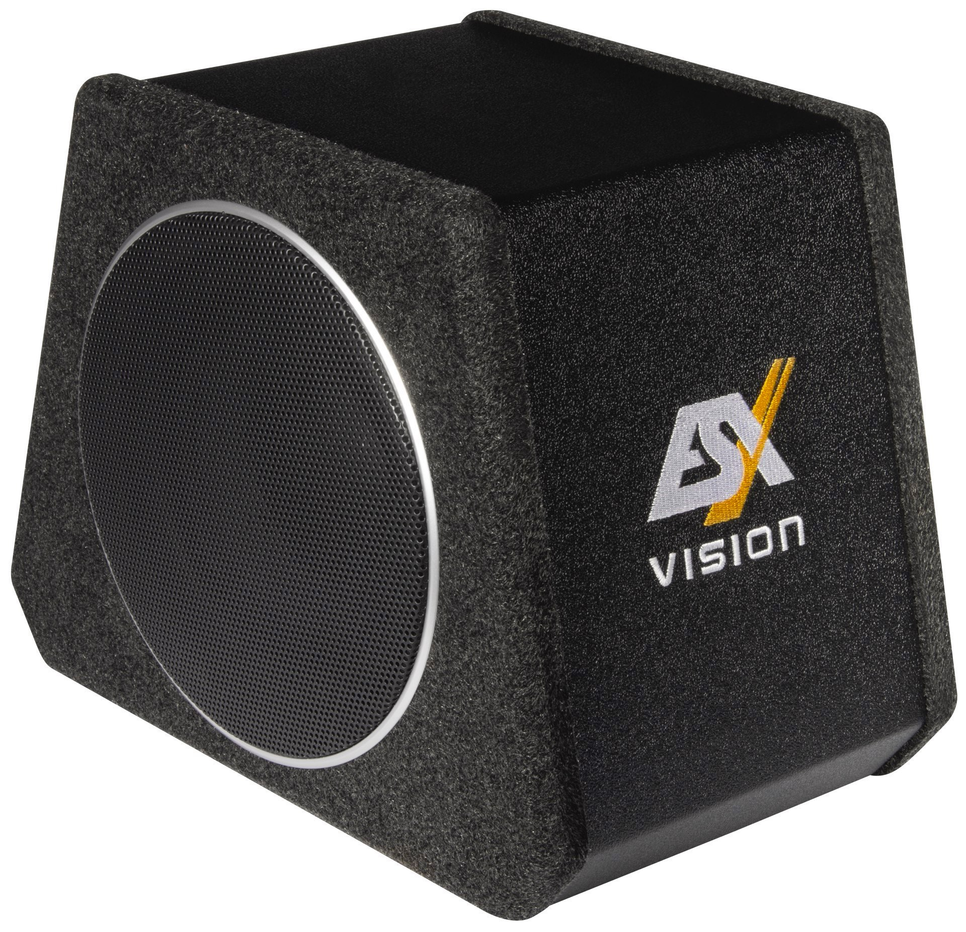 esx aktiv subwoofer bassbox v800a 400w. Black Bedroom Furniture Sets. Home Design Ideas