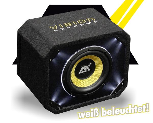 esx bassbox subwoofer bassreflex ve250. Black Bedroom Furniture Sets. Home Design Ideas