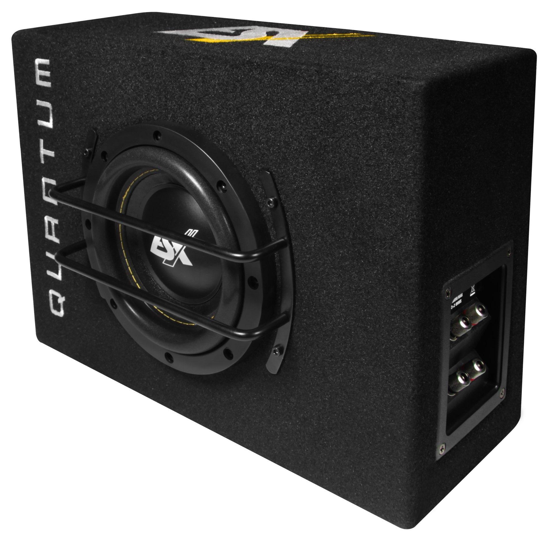 esx quantum subwoofer bass extra klein qsb6. Black Bedroom Furniture Sets. Home Design Ideas