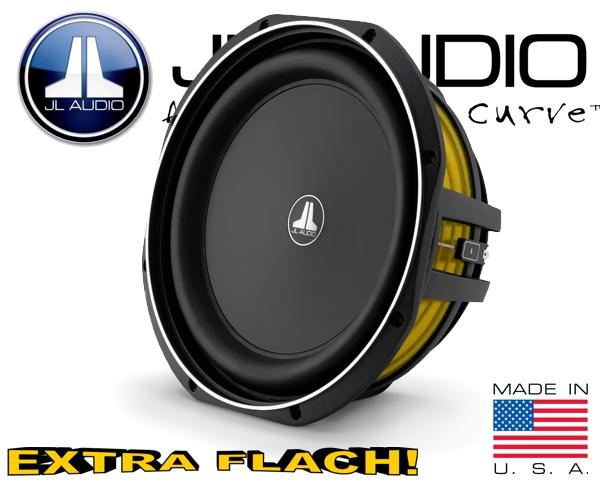 JL Audio Auto Subwoofer flach 300W 2ohm 12TW1-2