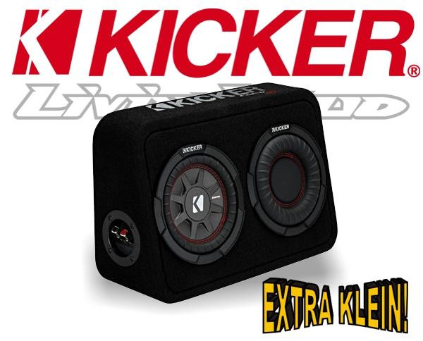 kicker subwoofer tcomp rt674 extra kleine bassbox 4ohm. Black Bedroom Furniture Sets. Home Design Ideas