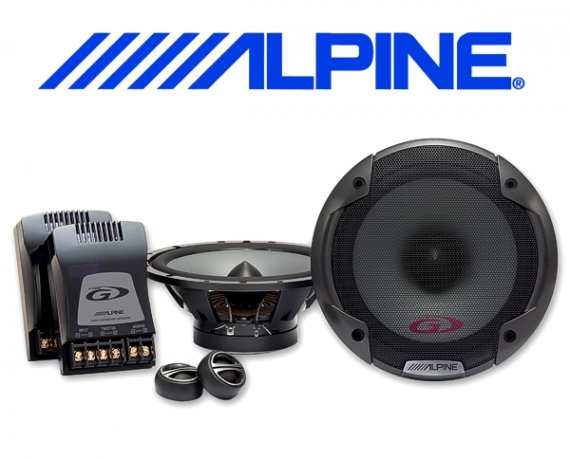 Alpine Auto Lautsprecher System 16,5cm 70W SPG-17CS