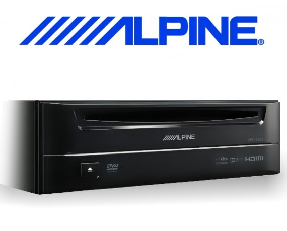 Alpine externer CD DVD Player DVE-5300 1-DIN