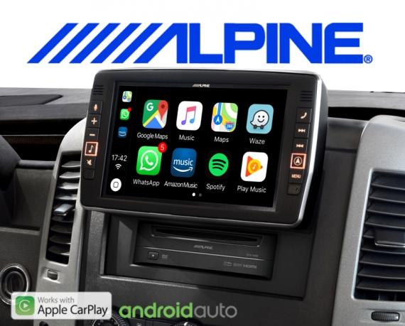 Alpine Premium Autoradio Navigation X903D-S906 für Mercedes Sprinter W906