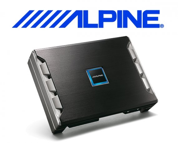 Alpine Auto Verstärker Endstufe PDR-F50 4x 85W