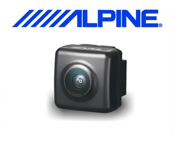 Alpine Rückfahrkamera HCE-C125 für universellen Monitor-Cinch-Anschluß