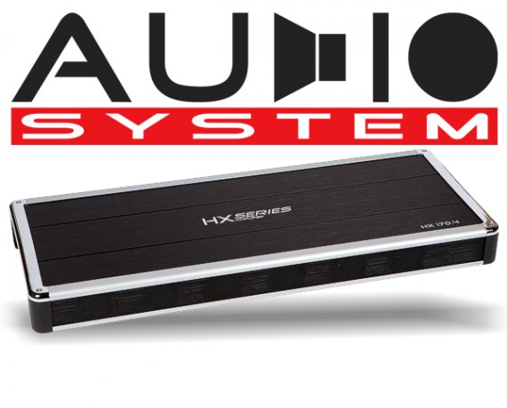 Audio System Car Audio Endstufe HX 175.4