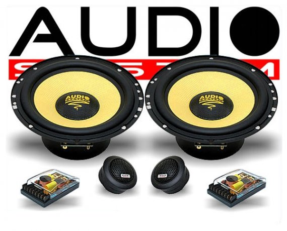 Audio System Audi Lautsprecher-Set X 165 Audi A3 A4-AS2WX165-27132020