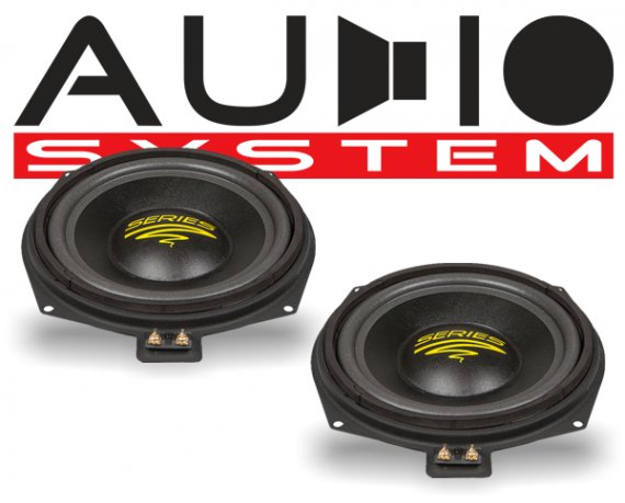 Audio System Subwoofer AX 08 BMW MK2