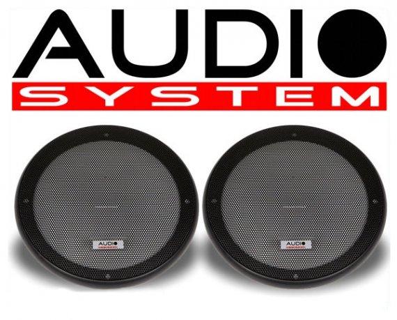 Audio System Lautsprechergrill 165mm, 2 Stück