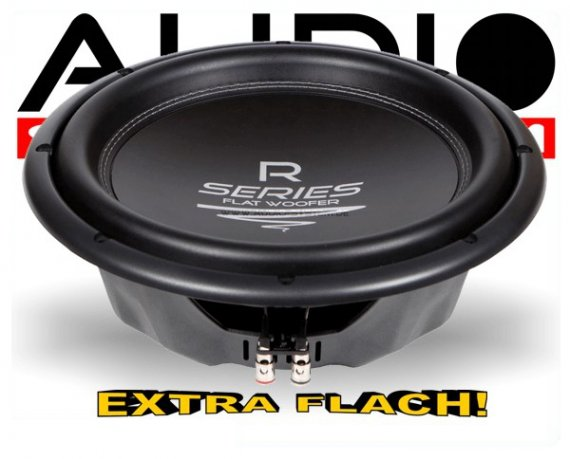 Audio System Subwoofer R 12 FLAT extra flach