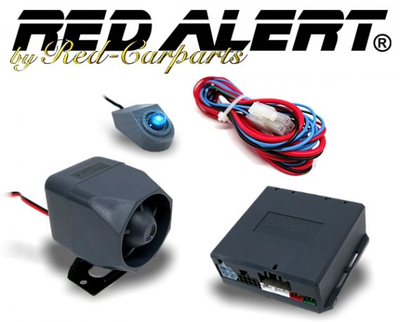 Red-Alert CAN-Bus Auto Alarmanlage RC4000