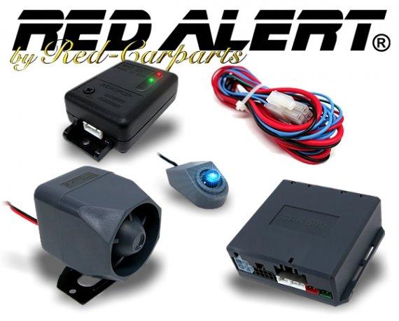 red alert auto alarmanlage sirene ultraschallsensor. Black Bedroom Furniture Sets. Home Design Ideas