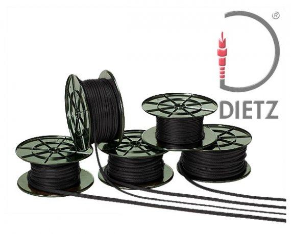 Stromkabel Car Hifi OFC Powerkabel 10 mm² schwarz Vollkupfer