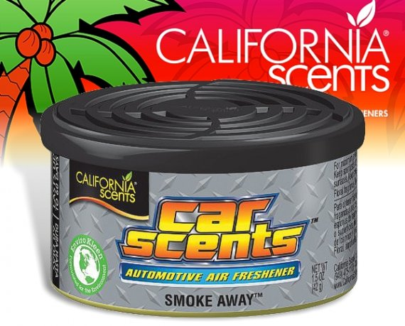 California Scents CarScents air fresh Lufterfrischer - Smoke Away