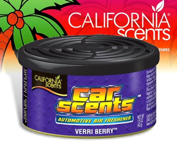 California Scents CarScents air fresh Lufterfrischer - Verri Berry