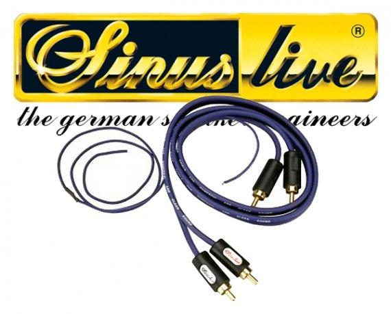 Cinch-Kabel - 0,80m - 3-fach abgeschirmt