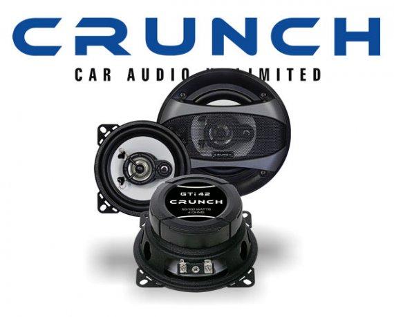 Crunch GTi 2-Wege Auto Lautsprecher Koax GTi-42