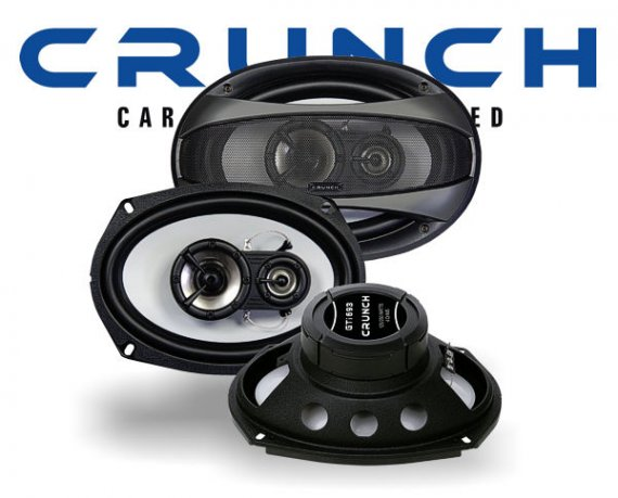Crunch GTi 3-Wege Auto Lautsprecher Triax GTi-693