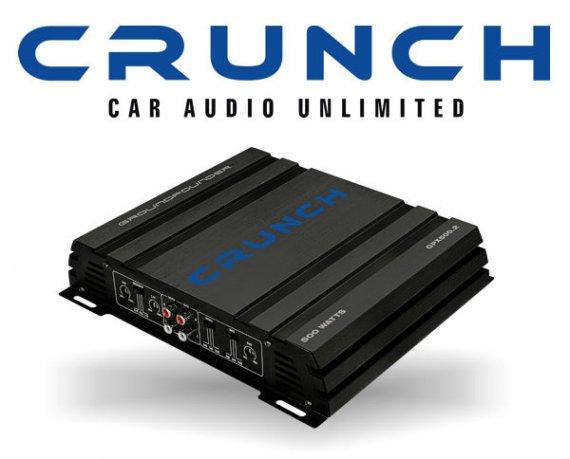 Crunch GPX Auto Verstärker Endstufe GPX-500.2
