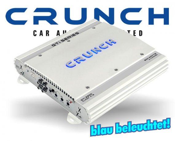 Crunch GTI Auto Verstärker Endstufe GTI-2200