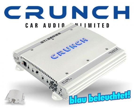 Crunch GTI Auto Verstärker Endstufe GTI-750